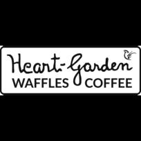 Heart-Garden Waffles & Coffee